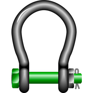Wide Mouth Shackle