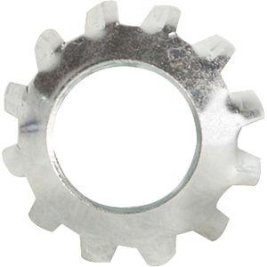 5//16 External Tooth Lockwasher Stainless Steel 18-8 Pk 100