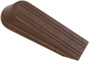 4u0026quot SP334BC Brown Rubber Wedge Door Stop  R