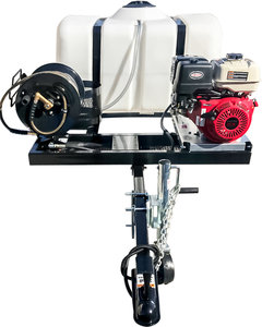 4 Gpm 4200 Psi 11.7HP Honda GX390 Trailer Mount Gas Pressure Washer |  Fastenal