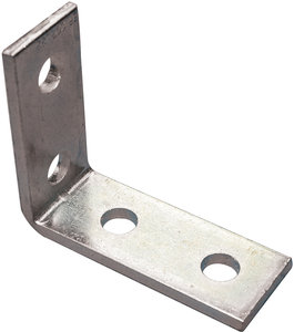 4-Hole Corner Angle - 90° 316 Stainless Steel | Fastenal